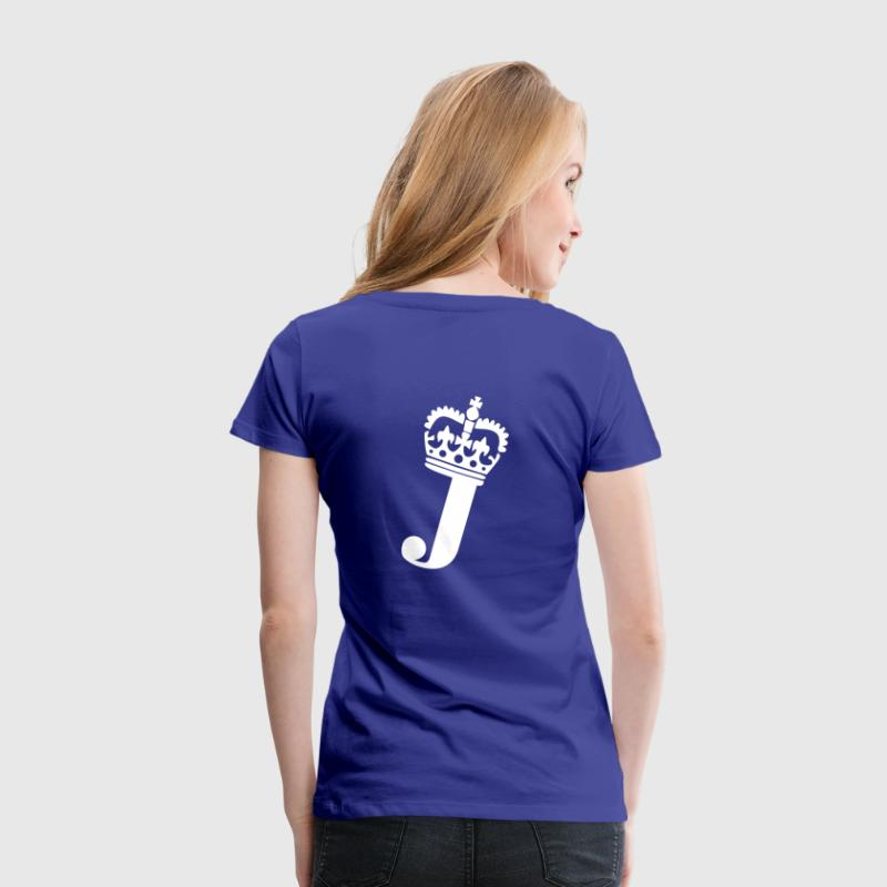 J - Letter - Name - Women's Premium T-Shirt