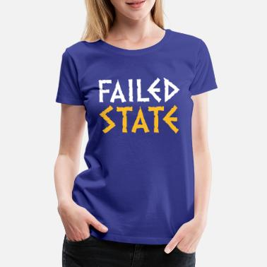 Deficit Failed State - Greece - Women's Premium T-Shirt