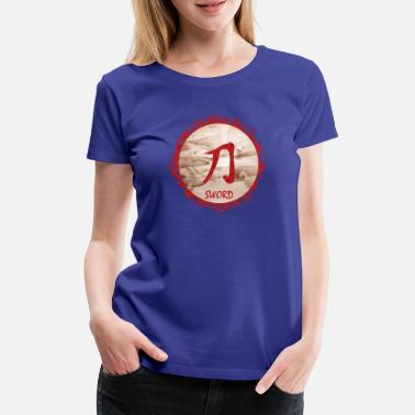 Sword Belt sword - Women's Premium T-Shirt