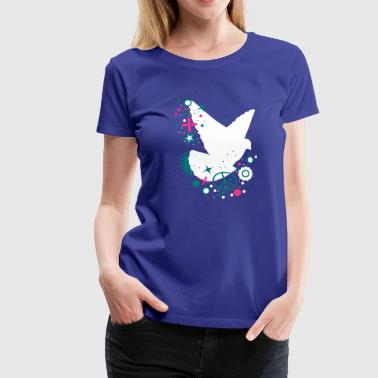 Peace Dove - symbol of peace - Women's Premium T-Shirt