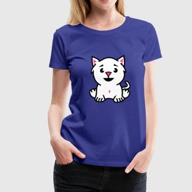 little cat - T-shirt Premium Femme