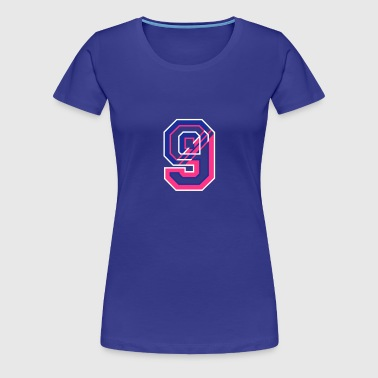 The number Nine - Women's Premium T-Shirt
