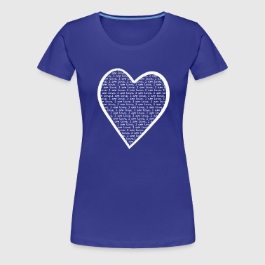 I AM LOVE - Frauen Premium T-Shirt