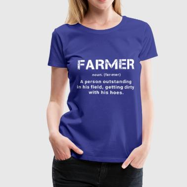 A great farmer - Women's Premium T-Shirt