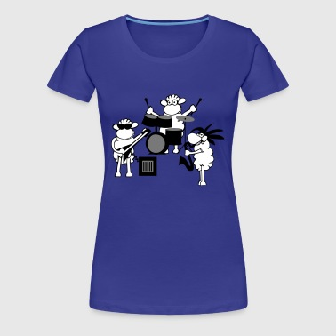 Rock music - Vrouwen Premium T-shirt