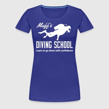 Muff's Diving School - Women's Premium T-Shirt