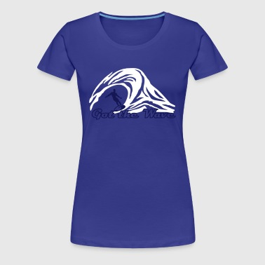 Surfer - Women's Premium T-Shirt