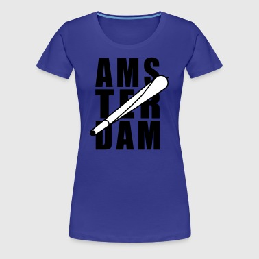 Amsterdam Holland Joint 2farbig - Women's Premium T-Shirt
