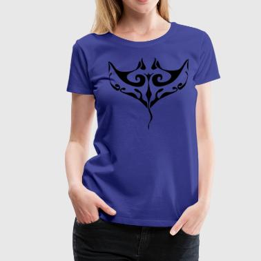 Manta ray tatoo - Women's Premium T-Shirt