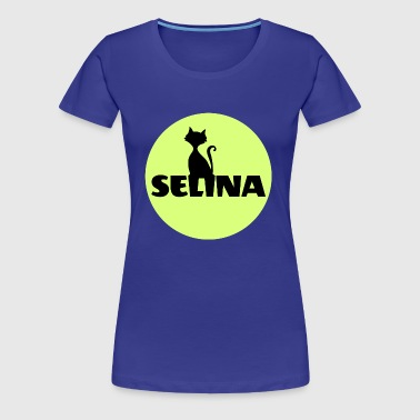 Selina Surname First name - Women's Premium T-Shirt