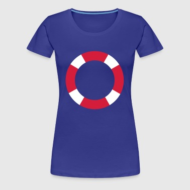 Rescue ring | Shipping | Boat | Ship | coast - Women's Premium T-Shirt