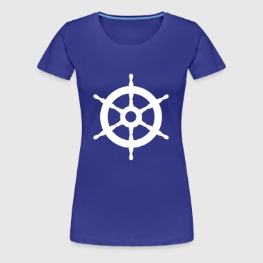 Ship Wheel - Women's Premium T-Shirt