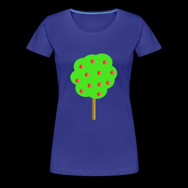 apfel apple obst veggie gemuese fruits20 - Frauen Premium T-Shirt