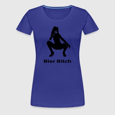 Bier Bitch - Frauen Premium T-Shirt