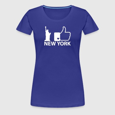 I like New York - T-shirt Premium Femme