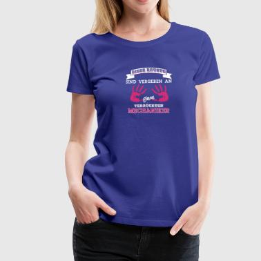 Mechaniker Brüste Shirt für Damen - Frauen Premium T-Shirt