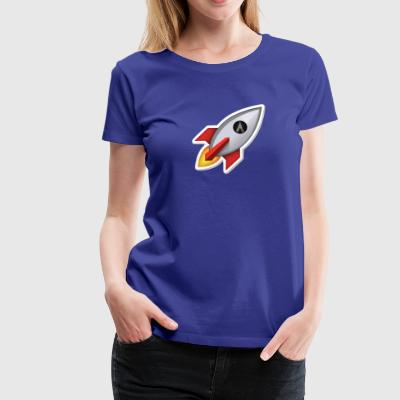 Dentacoin Rocket - Frauen Premium T-Shirt