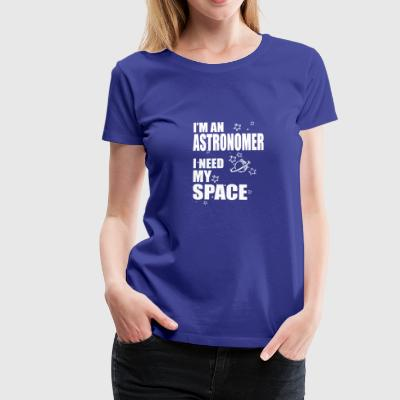 i need space - Frauen Premium T-Shirt