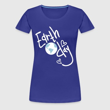 Earth day earth globe - Women's Premium T-Shirt
