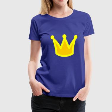 couronne de princesses d'or - T-shirt Premium Femme