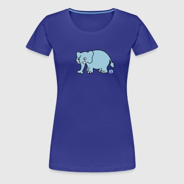 Elefant (mc) - Women's Premium T-Shirt