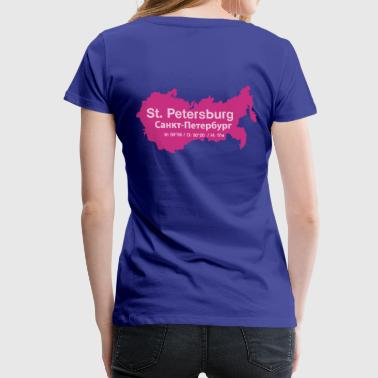 St.Petersburg - Frauen Premium T-Shirt