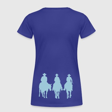 Trio - Western riding - Frauen Premium T-Shirt