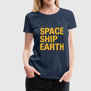 Spaceship Earth - Frauen Premium T-Shirt