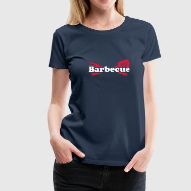 Barbecue - Frauen Premium T-Shirt