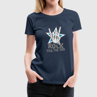 rock 'till the end star - Premium-T-shirt dam