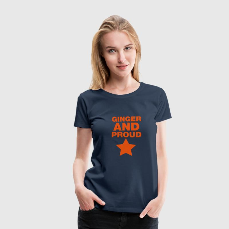 Ginger And Proud Star - Women's Premium T-Shirt