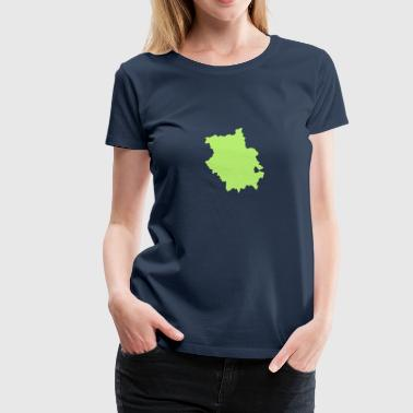 Cambridgeshire UK County - Women's Premium T-Shirt