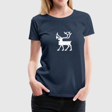 Moose Norway Scandinavia Elk T-shirt - Women's Premium T-Shirt