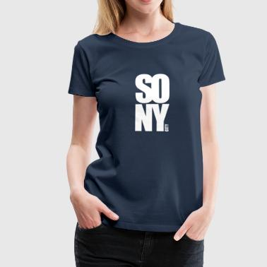 so new york city - Vrouwen Premium T-shirt