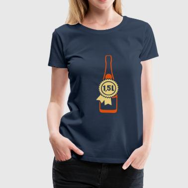 Magnum 1 5 liters bottle size alcohol - Women's Premium T-Shirt