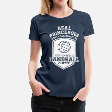 Handball Mutter Handball - Frauen Premium T-Shirt