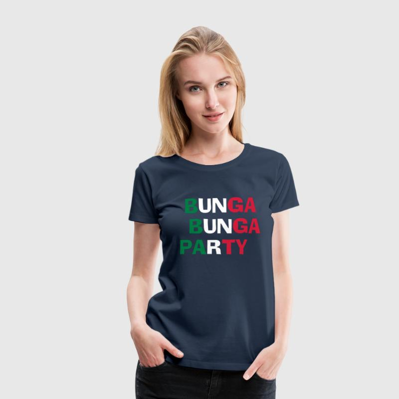 Bunga Bunga Party - Vrouwen Premium T-shirt