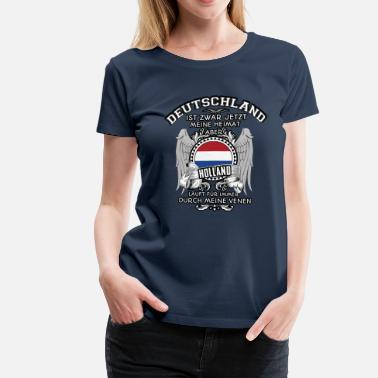 Holland Holland in Venen - Frauen Premium T-Shirt