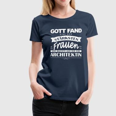 Architektin  - Frauen Premium T-Shirt