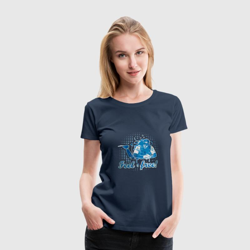 Feel free - Frauen Premium T-Shirt