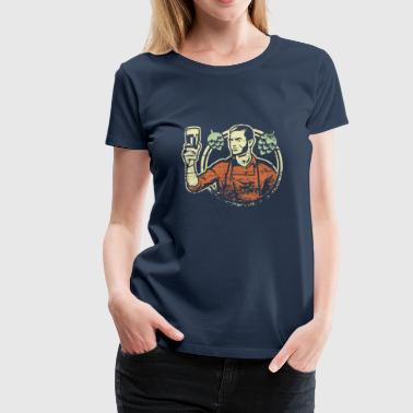 Home Brewing - Frauen Premium T-Shirt