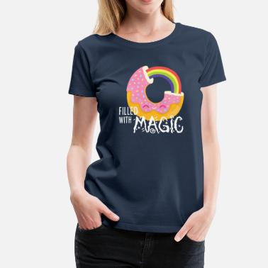 Donut - filled with magic - Frauen Premium T-Shirt