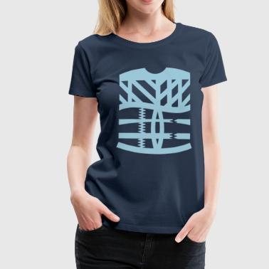 Tattoo Abstract an abstract graphic tattoo - Women's Premium T-Shirt