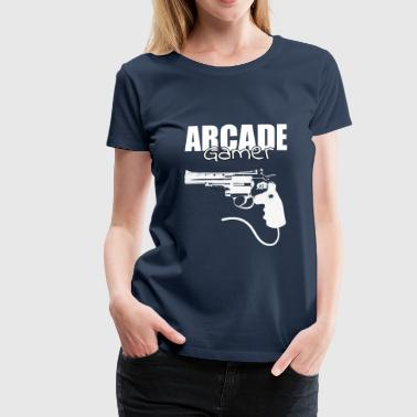 Arcade Player - Conception de jeux - T-shirt Premium Femme