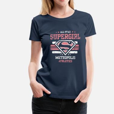 Supergirl barn T-Shirt All Star - Premium T-skjorte for kvinner