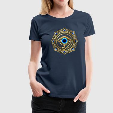 Eye of Providence - Eye of Horus - Eye of God I - Vrouwen Premium T-shirt
