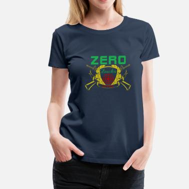 Bulls Eye Zero Ducks Given Duck Hunter Bulls Eye - Dame premium T-shirt
