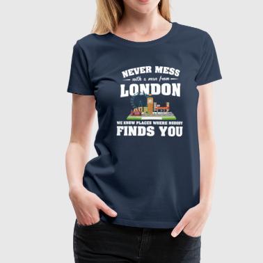Cities London - Women's Premium T-Shirt