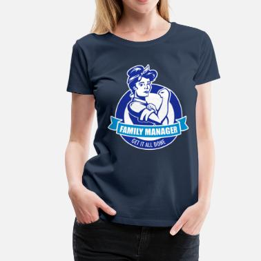 family manager - Women's Premium T-Shirt