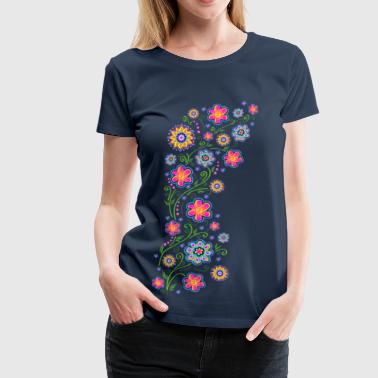Summer flowers, spring, garden, nature, beautiful - Maglietta Premium da donna